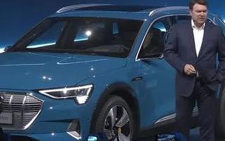 奥迪首款电动SUV——奥迪e-tron正式发布