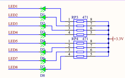 如何使用STM32寄存器点亮一个LED的电路程序等资料免费下载