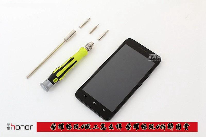 荣耀畅玩4拆解 仅售699元的4G双卡手机做工究...