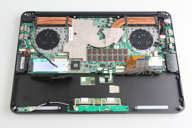 如何安装和拆卸笔记本记忆棒