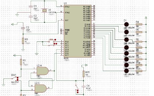 ATMEL公司8051构架单片机Protel元件库的详细资料免费下载