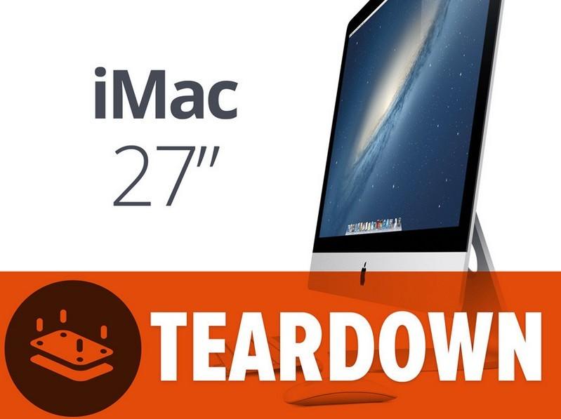 苹果27英寸iMac拆解 外观方面没有变化内部又...