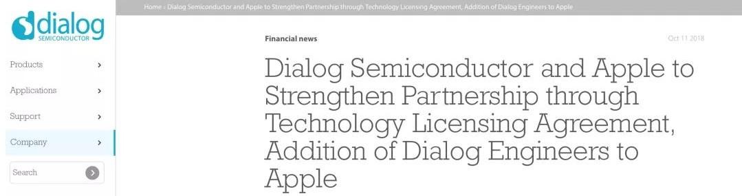 3亿美元收购Dialog部分业务 谁将是最大赢家?