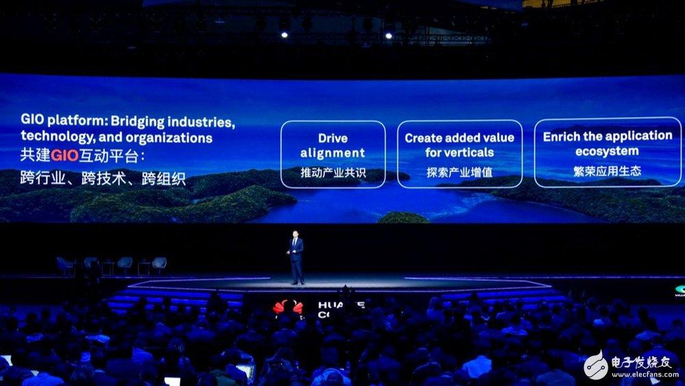 """华为主张""""平台+AI+行业智慧+生态""""推动智能世界加速到来"""