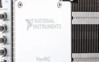NI宣布推出基于FPGA的PXIe-5785 FlexRIO收发器