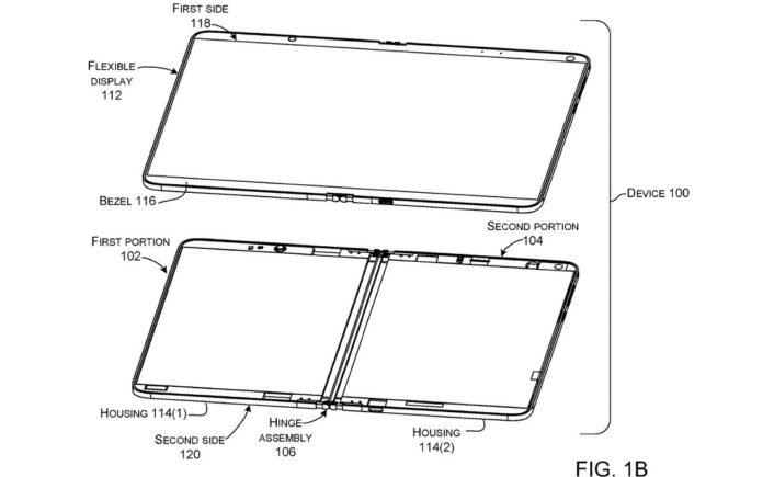 """微软新专利""""铰链设备""""曝光,或运行 Windows Core OS"""