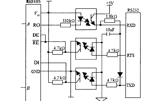 RS485接口程序和基于RS485實現的PC機與單片機串行通信控制系統資料
