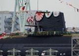 日本首艘锂电潜艇下水 该潜艇为锂离子电池作为动力的潜艇