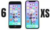 iPhone6对比iPhone XS速度测试