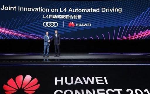 华为联手奥迪合作研发L4级别自动驾驶