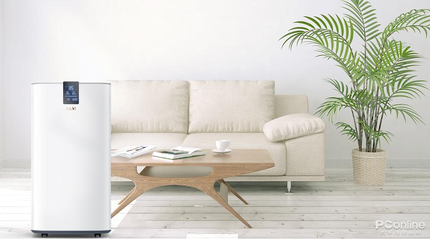 IAM推出一款颠覆性空气净化器 近乎无声全面净化