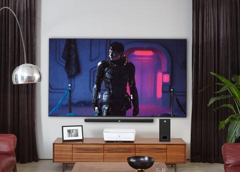 明基激光超投电视:撑起未来大屏观影生活,只要一平...