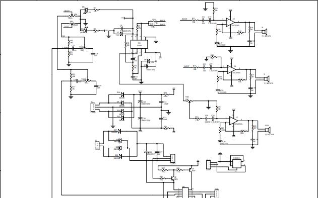 LM2030 2.1功放板详细电路原理图免费下载