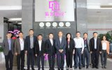 中国移动终端公司李连贵董事长一行莅临紫光展锐上海总部参观考察