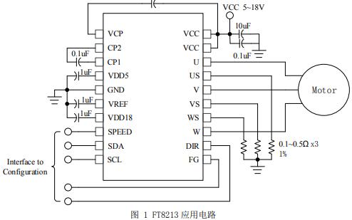 FT8213直流无刷马达驱动芯片的调试说明手册资料免费下载