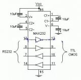 单片机与PC串口通信的程序及电路图详解