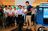 普思英察科技无人移动零售车和无人履带车,引起了韩正副总理的极大兴趣