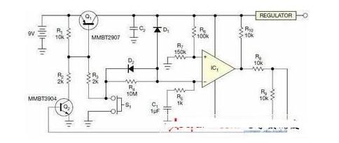 运用运放构成的RC定时电路