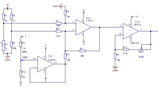 温度变送器的设计资料包含电路图详细资料免费下载