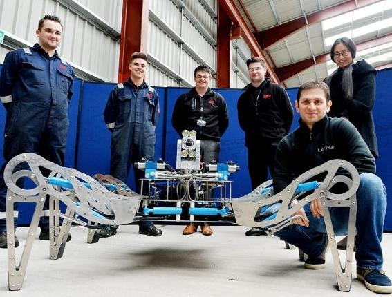 英国政府利用机器人的力量来帮忙清理核废料