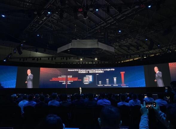 华为发布7nm自研AI芯片:叫板英伟达和谷歌