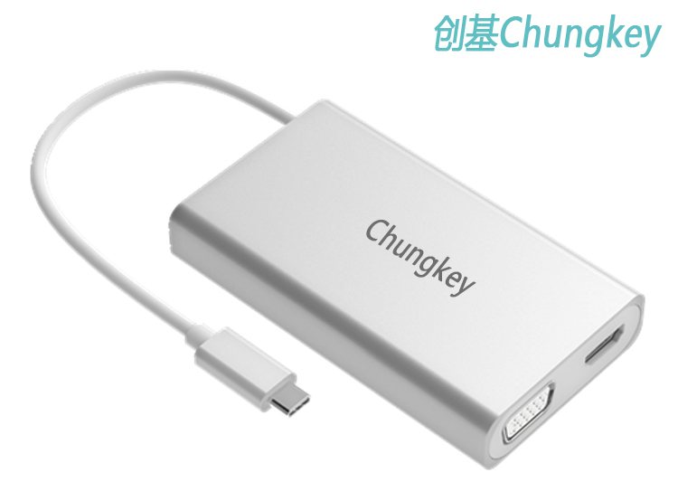 创基USB Type-C扩展坞介绍