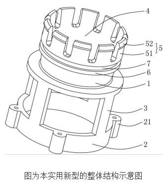 智能燃气表电机阀的阀体安装结构的设计