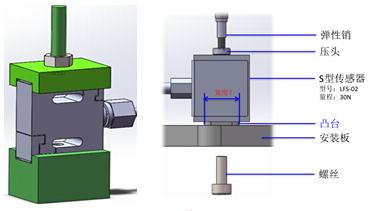 S型称重传感器工作原理及安装方法