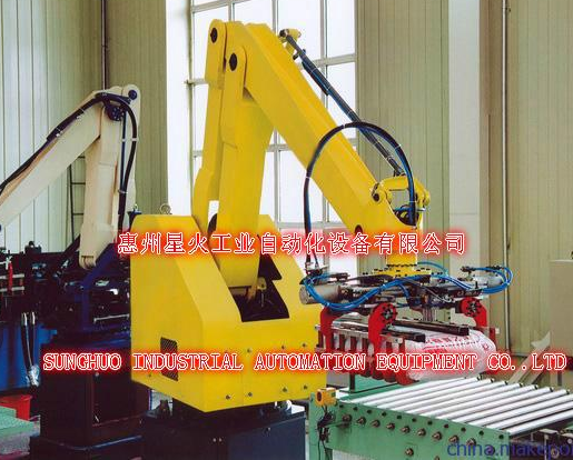 澳柯玛第一台六轴工业机器人研制成功,搭配全套西门子电控系统