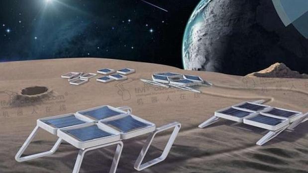 DeployBot可展开式软体机器人特别适用于太空任务