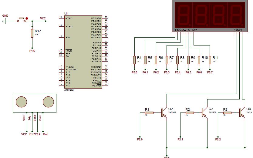 如何使用51单片机实现超声波测距数码管显示包括原理图资料免费下载