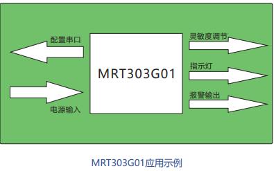 MRT303G01通用振动、位移检测模块的产品数据和使用手册免费下载