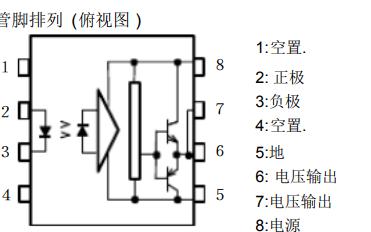 TLP250光耦合器砷化镓铝集成红外光电二极管的详细数据手册免费下载