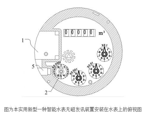 智能水表无磁发讯装置的原理及设计
