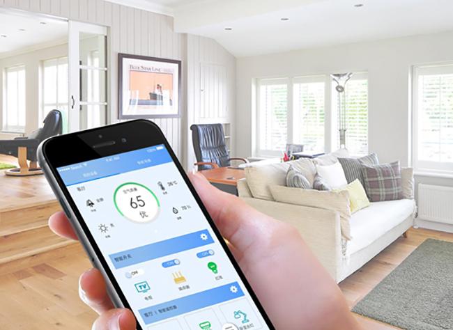 传感器能确保智能家居控制系统的时效性,实现真正快捷的传播