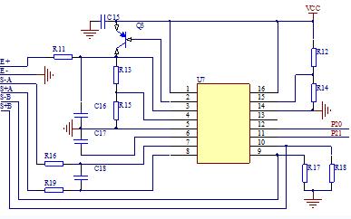 HX711 AD转换器芯片模块元件清单和原理图及电子称原理图