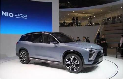 蔚来汽车首款量产车型ES8交付速度加速,产能稳步增长