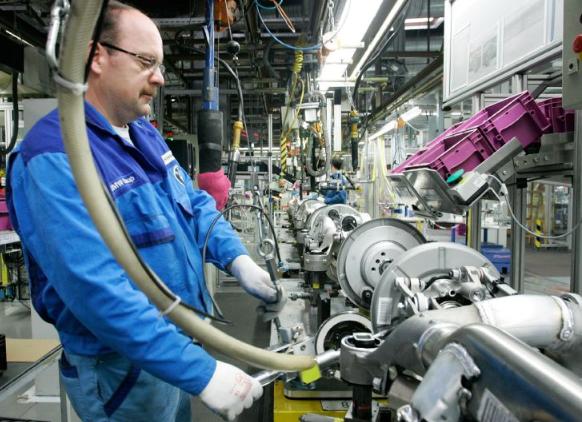 机器加装传感器 大幅提升企业营运运转效率