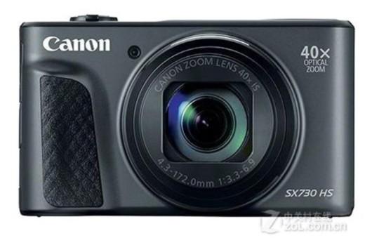 佳能SX730HS相机,采用92万像素液晶屏,拥有2030万的有效像素