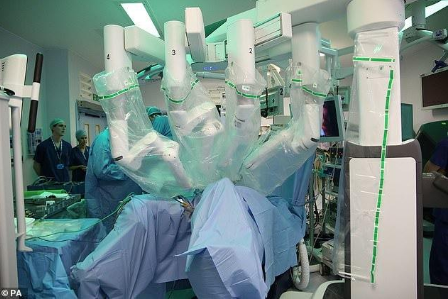 英国首次使用Da Vinci Xi机器人实施手术,让手术变得更简单