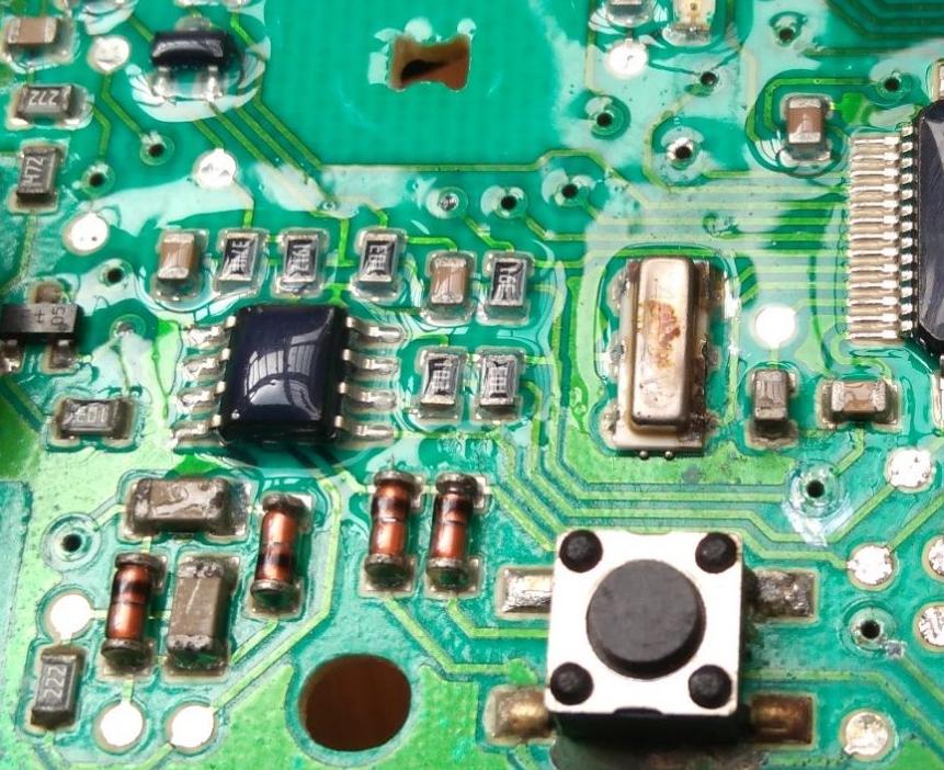 某品牌洗衣机的电路板工艺与设计缺陷