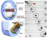 研究人员成功设计了新型液态金属自驱动轮式移动机器人