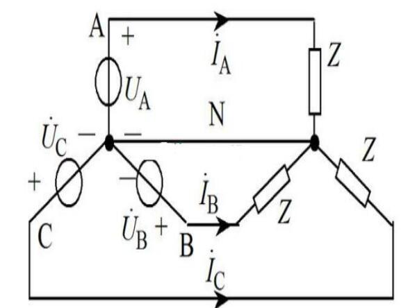 三相负载的连接方式