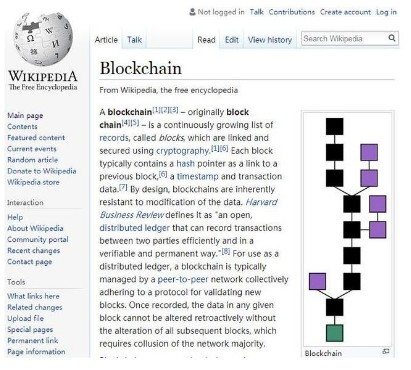 维基百科联合创始人,计划将区块链技术运用到网络百...