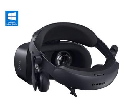 三星升级Windows VR头盔,显示效果得到了...