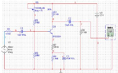 Multisim教程之如何使用Multisim进行单级放大电路的仿真实验概述