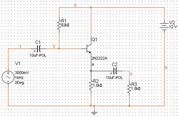 Multisim教程之如何使用Multisim进行射极跟随器的仿真实验概述