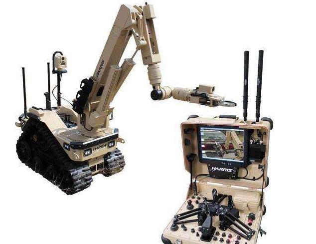 英国研发出一款新型拆弹机器人