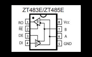 ZT485E系列差分数据线收发器的详细数据手册免费下载