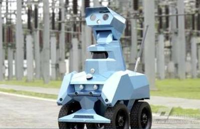 智能巡检机器人成安博会亮点,优必选利用AI重新定...